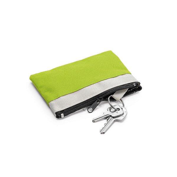 Chaveiro mini nécessaire em nylon 600D personalizado - Cód.: 93124SQ