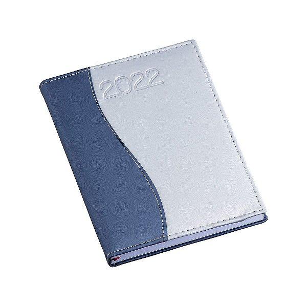Agenda diária com capa metalizada personalizada - Cód.: 150LQ