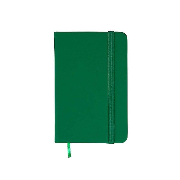 Caderneta tipo moleskine com pauta capa emborrachada - Cód.: 03009XQ