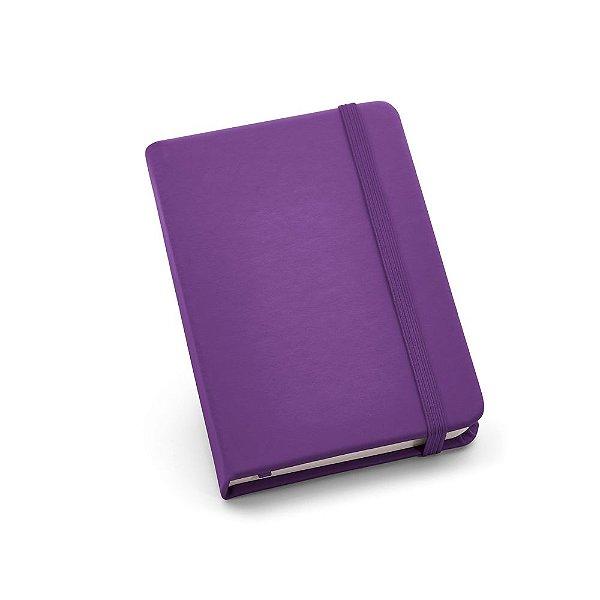 Caderneta tipo moleskine sem pauta capa emborrachada - Cód.: 93425SQ