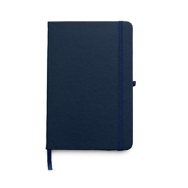 Caderneta tipo moleskine com pauta capa emborrachada - Cód.: 14549PXQ