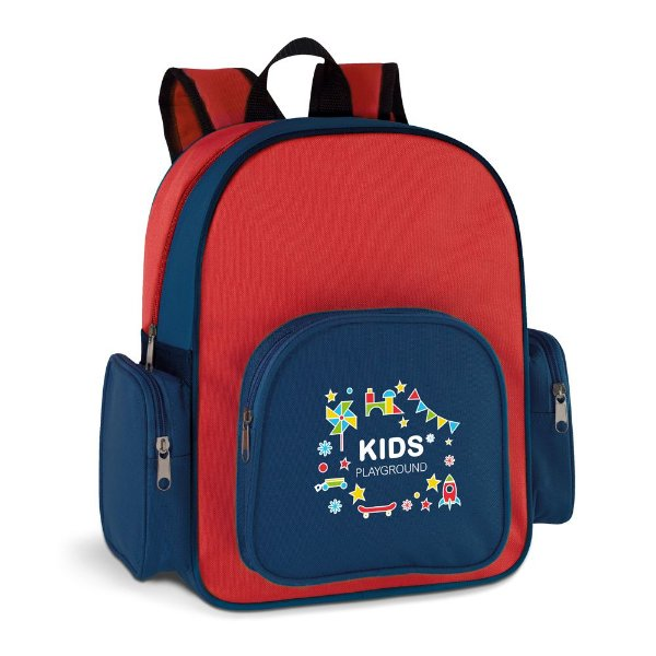 Mochila infantil com 4 compartimentos personalizada - Cód.: 92615SQ