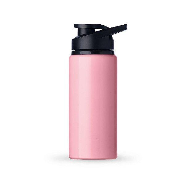 Squeeze metálica 600 ml. com pintura brilhante personalizada - Cód.: 12487BXQ