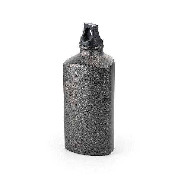Squeeze metálica 600 ml. com tampa rosqueável - Cód.: 94062SQ