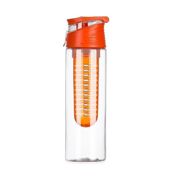 Squeeze plástico 700 ml com infusor personalizado - Cód.: 13764BXQ