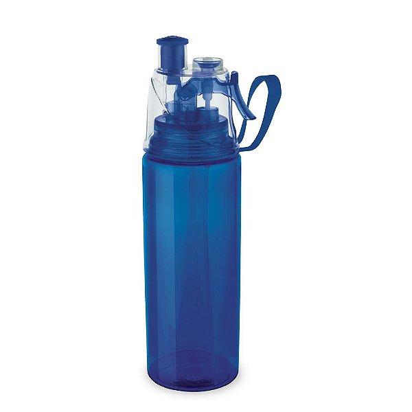 Squeeze plástico 600 ml. com borrifador personalizado - Cód.: 94632SQ