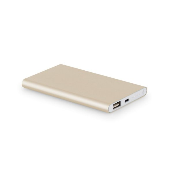 Power bank bateria para celular slim em alumínio - Cód.: 97379SQ