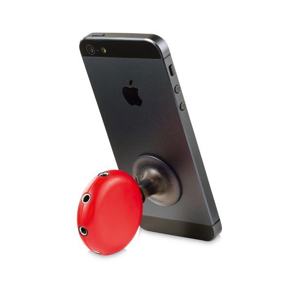 Divisor de áudio splitter para celular com 5 conectores - Cód.: 37402SQ