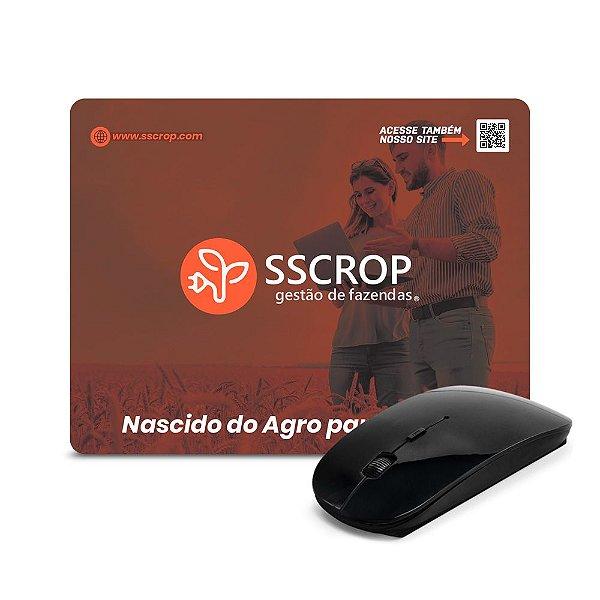 Mouse pad personalizado em impressão Off-set colorida - Cód. 2APQ