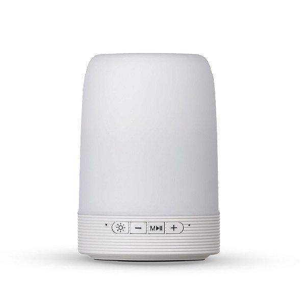 Caixa de som multimídia Bluetooth e luminária personalizada - Cód. 02017XQ