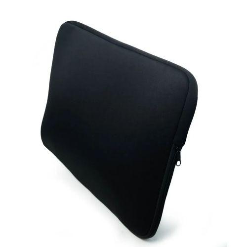 Capa Luva Case Notebook 15,6 Polegadas Preta Lisa Ultrabook