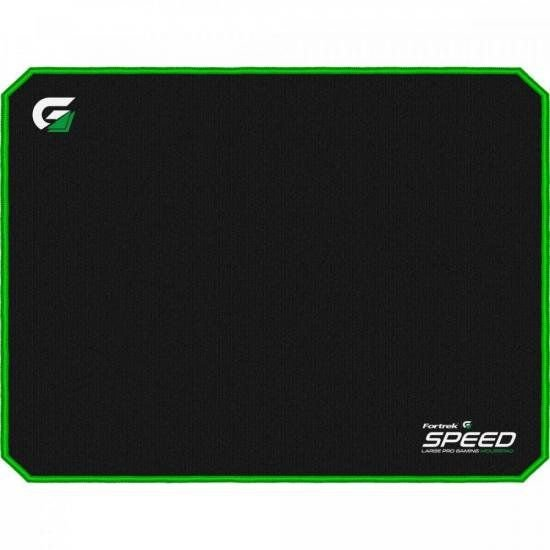 Mouse Pad Gamer Large Size (440x350mm) SPEED MPG102 Verde FORTREK