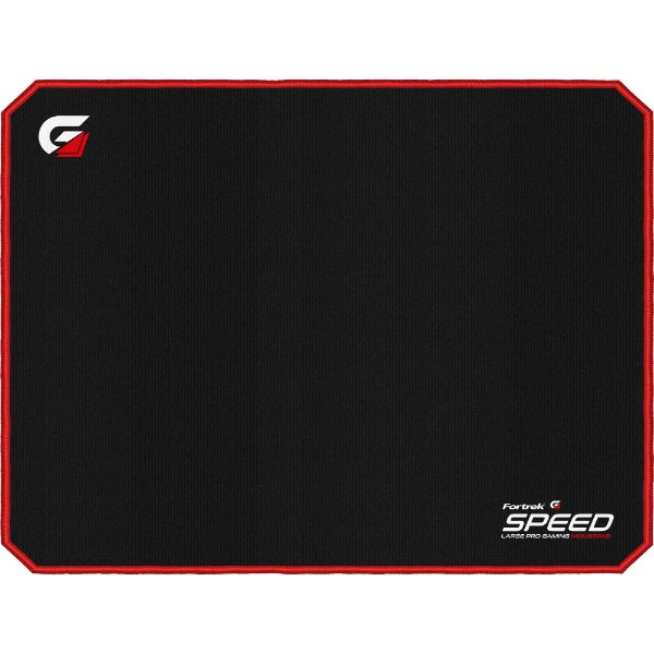 Mouse Pad Gamer Large Size (440x350mm) SPEED MPG102 Vermelho FORTREK