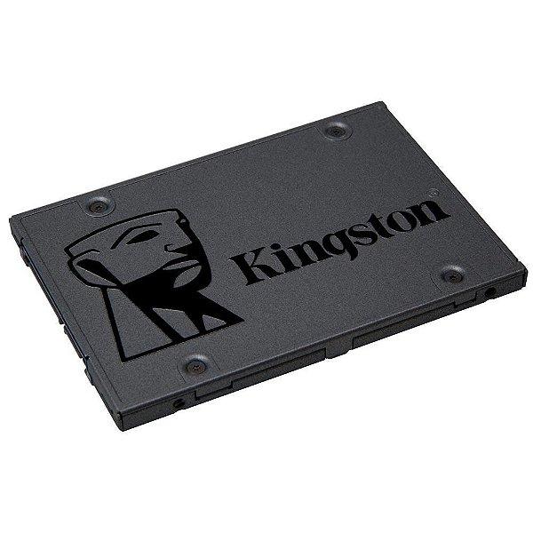 SSD Kingston A400, 480GB, SATA, Leitura 500MB/s, Gravação 450MB/s