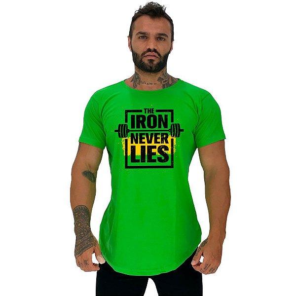 Camiseta Longline Manga Curta MXD Conceito The Iron Never Lies