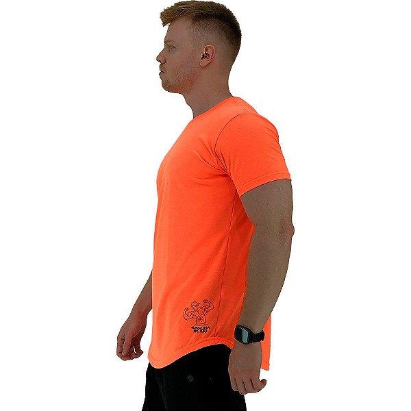 Camiseta Longline Masculina MXD Conceito Estampa Lateral Todo Dia Ano Todo