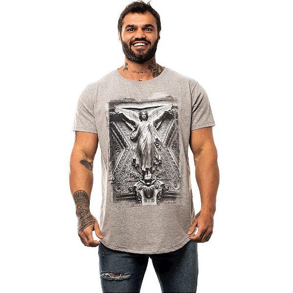 Camiseta Longline Masculina MXD Conceito Limitada Angel Anjo