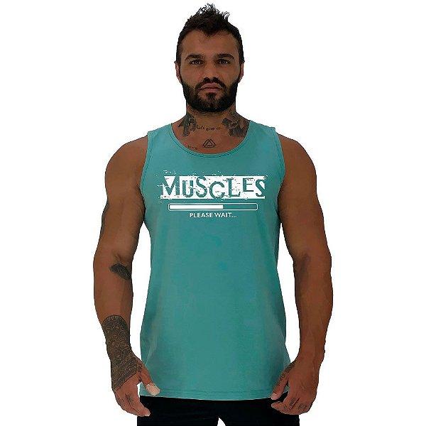 Regata Clássica Tradicional Masculina MXD Conceito Muscles Músculos