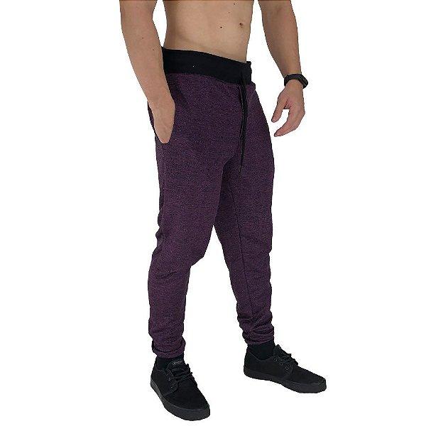 Calça Masculina Moletom MXD Conceito Purple Dark
