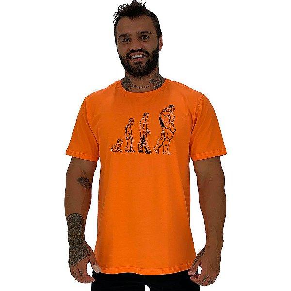 Camiseta Tradicional Masculina Manga Curta MXD Conceito Evolution