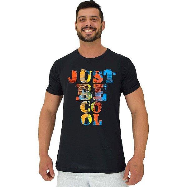 Camiseta Tradicional Manga Curta MXD Conceito Just Be Cool Seja Legal