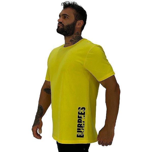 Camiseta Tradicional Masculina MXD Conceito Estampa Lateral Burpes