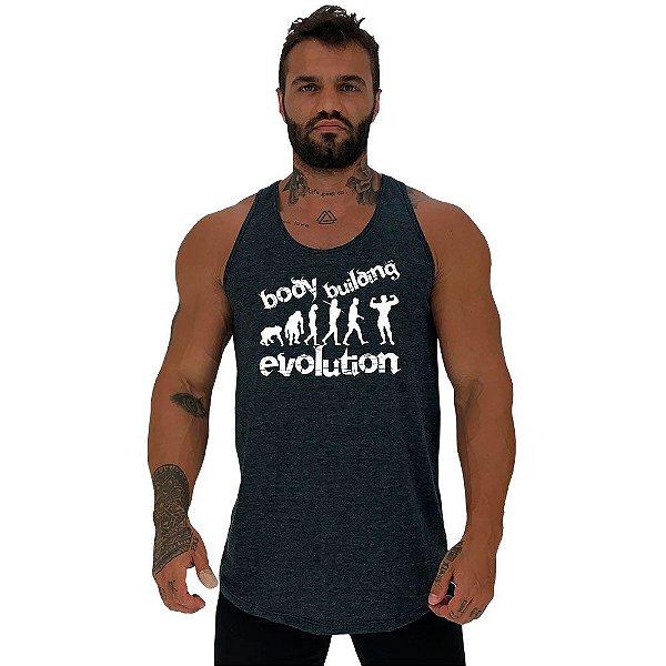 Regata Longline Masculina MXD Conceito Bodybuilding Evolution