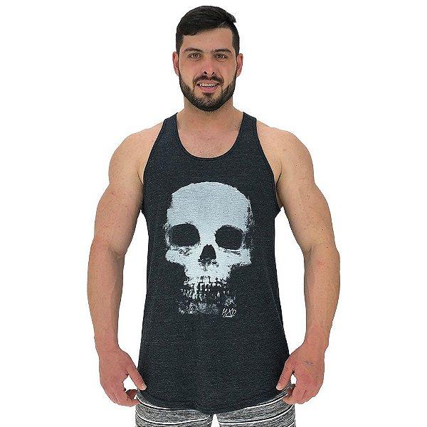Regata Longline Masculina MXD Conceito Skull Caveira