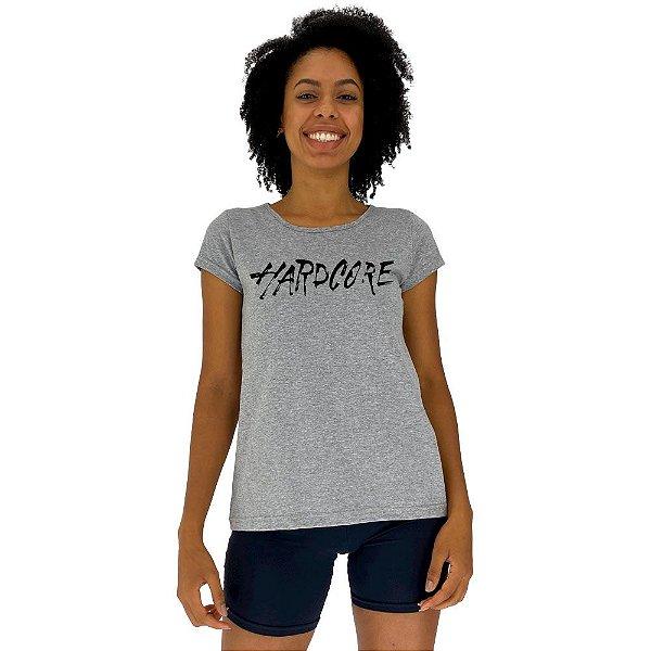 Camiseta Babylook Feminina MXD Conceito Hardcore