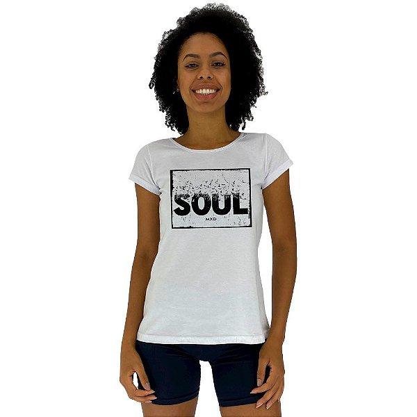 Camiseta Babylook Feminina MXD Conceito Soul Alma