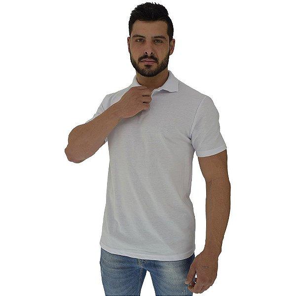 Camisa Gola Polo Masculina MXD Conceito Branco Básico
