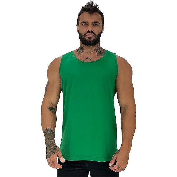 Regata Clássica Masculina MXD Conceito Verde Bandeira