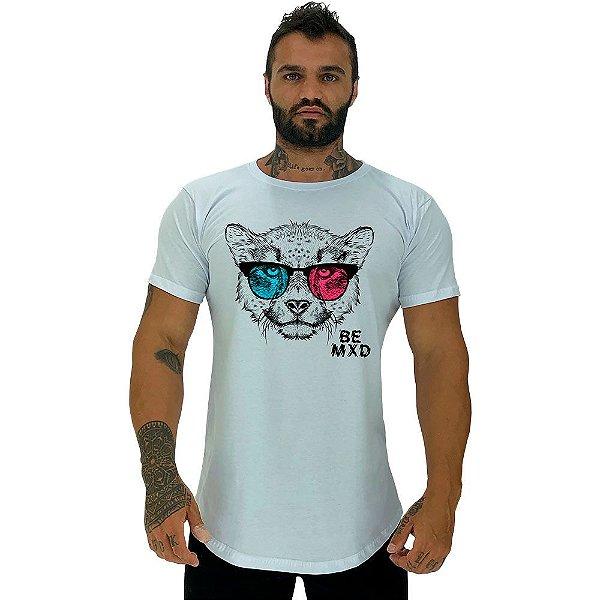 Camiseta Longline Masculina Manga Curta MXD Conceito Cheetah 3D