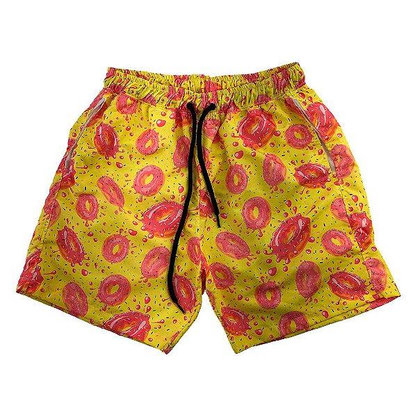 Shorts Praia Tactel Masculino MXD Conceito Rosquinhas