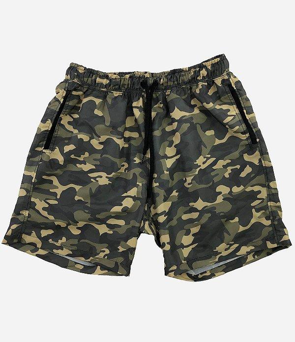 Shorts Praia Tactel Masculino MXD Conceito Verde Praia