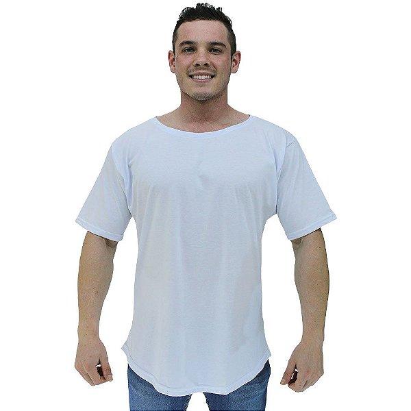 Camiseta Morcegão Masculina MXD Conceito Lisa Branco