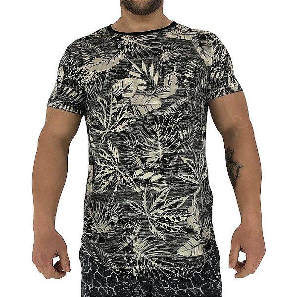 Camiseta Longline Fullprint Masculina MXD Conceito Palmeiras