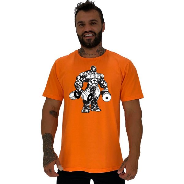 Camiseta Tradicional Masculina Manga Curta MXD Conceito Monster