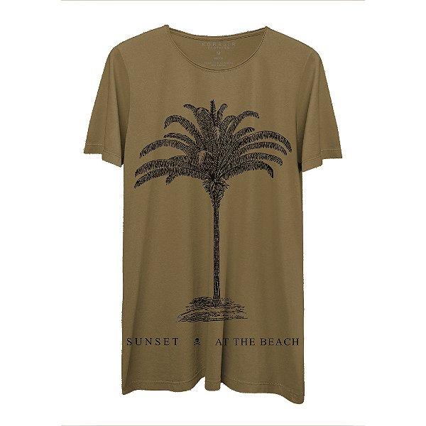 Camiseta Masculina Gola Redonda Korsair Sunset At The Beach