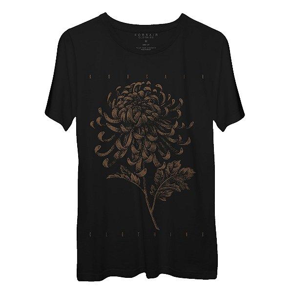 Camiseta Masculina Gola Redonda Korsair Botanical