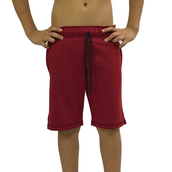 Bermuda Masculina Infantil MXD Conceito Vermelho