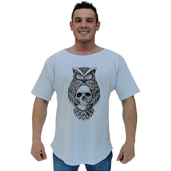 Camiseta Morcegão Masculina MXD Conceito Coruja Caveira