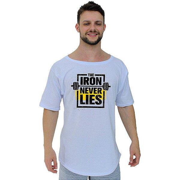 Camiseta Morcegão Masculina MXD Conceito The Iron Never Lies