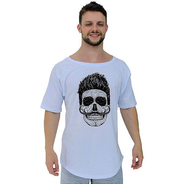 Camiseta Morcegão Masculina MXD Conceito Caveira Bigode