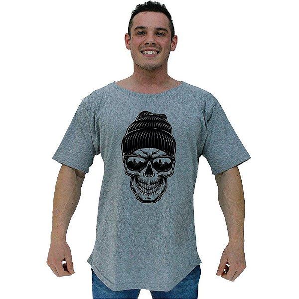 Camiseta Morcegão Masculina MXD Conceito Caveira Estilosa