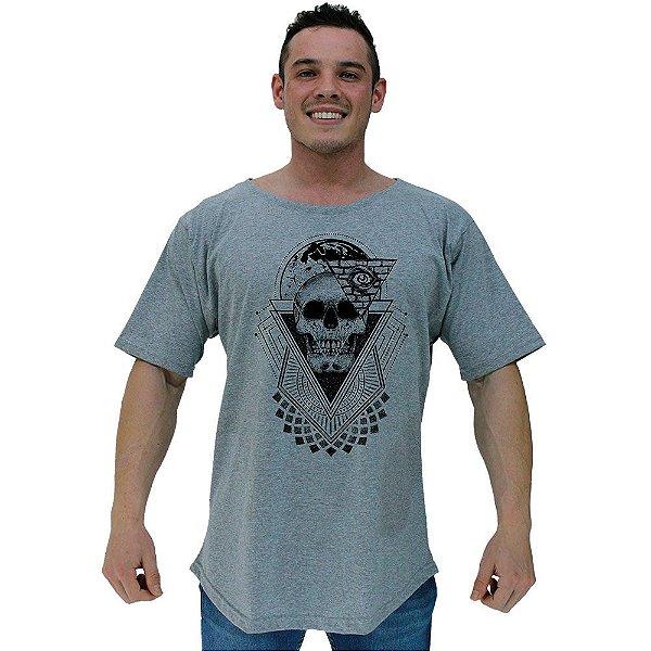 Camiseta Morcegão Masculina MXD Conceito Caveira Olhos do Mundo