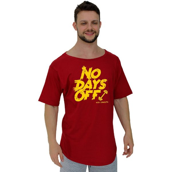 Camiseta Morcegão Masculina MXD Conceito No Days Off Halteres
