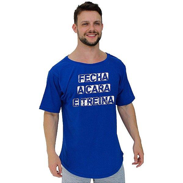 Camiseta Morcegão Masculina MXD Conceito Fecha a Cara e Treina