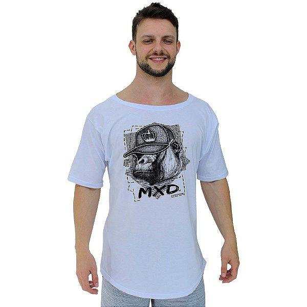 Camiseta Morcegão Masculina MXD Conceito Gorila Estiloso