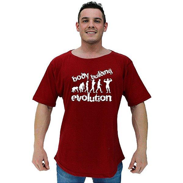 Camiseta Morcegão Masculina MXD Conceito Body Building Evolution